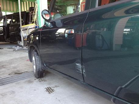 車修理 ぶつけた