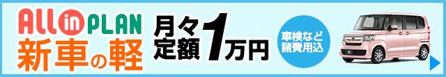 新車の軽が月々1.1万円